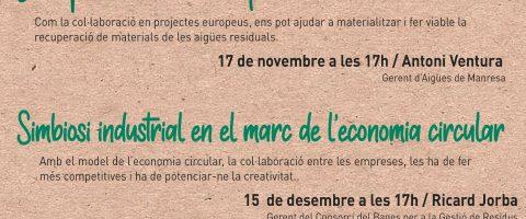 Parc de la Sèquia and BBVA present a new series of talks on sustainability