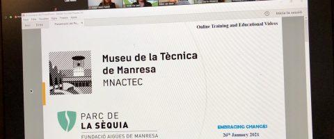 Parc de la Séquia participates in the I International Webinar of Water Museums